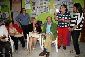 El alcalde de Huelva ha asistido al encuentro en Caminar.