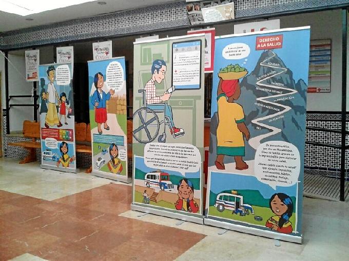 'El viaje de Allikay' para promocionar la salud como derecho fundamental termina en Huelva