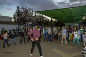 Aerobic, una de las actividades organizadas por la Asociación contra el cáncer Acamacum. / Foto: José María Delgado.