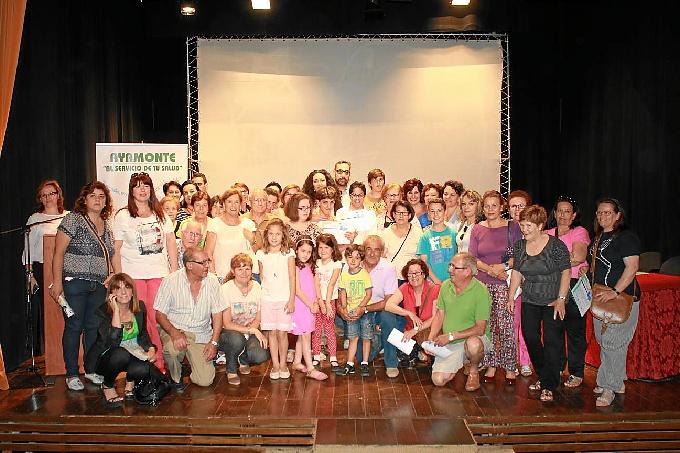 Algunos de los participantes del programa 'Por un millón de pasos'.
