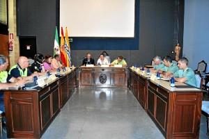 Los asistentes a la Junta Local de Seguridad, trataron diversas temáticas.