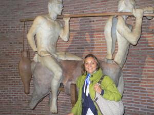 La directora del Archivo Municipal de Huelva, Lola Lazo.