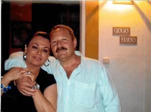 Los padres de Yoshua Trijueque.