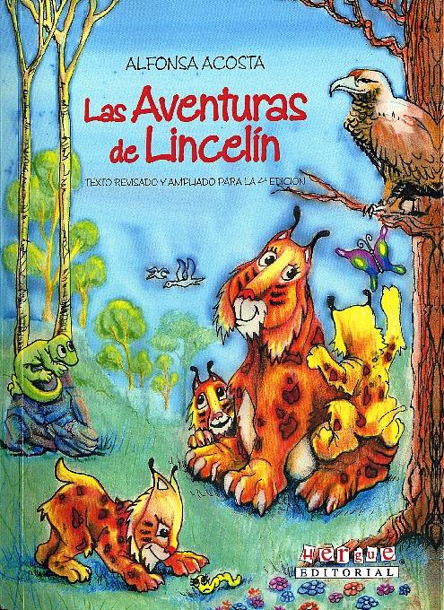 Portada del libro 'Las Aventuras de Lincelín', de Alfonsa Acosta.