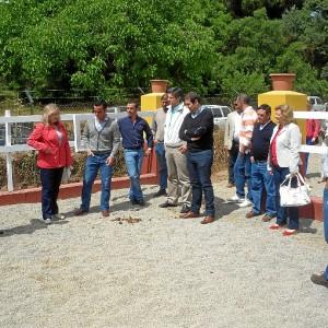 Visita al Picadero 'La Suerte' de Galaroza.