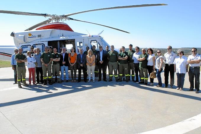 El Plan Infoca tiene ya en alerta a 630 agentes en Huelva.