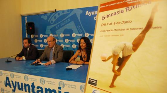 El Palacio de los Deportes de Huelva, escenario del Campeonato de Andalucía de Gimnasia Rítmica