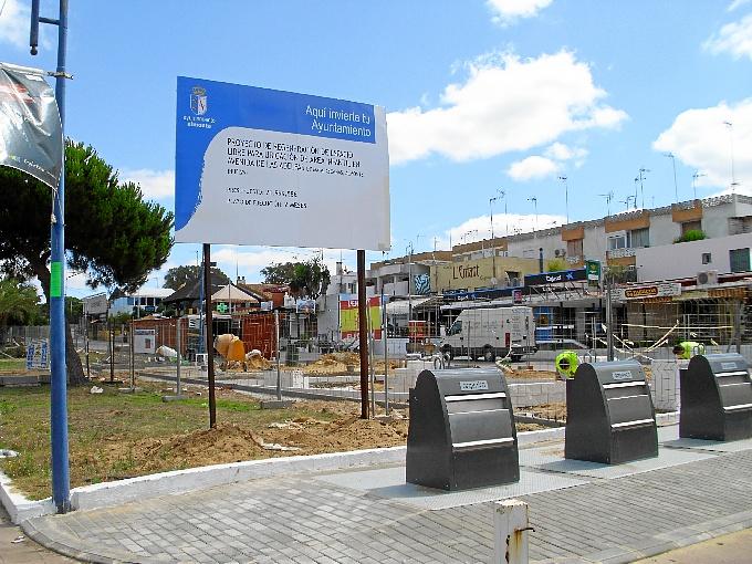 El nuevo parque infantil se ubicará en la Avenida de las Adelfas.