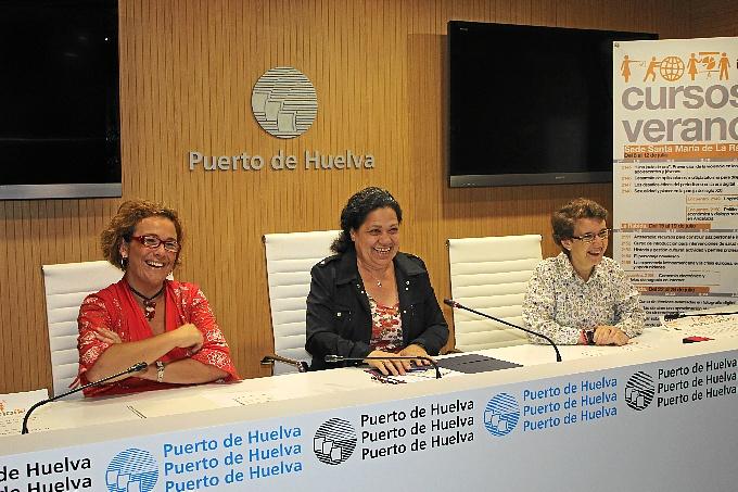 Presentación del Encuentro 'Logística y Transporte' que se llevará a cabo en la sede rabideña de la Unia.