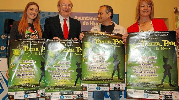 La Casa Colón acoge la obra 'Peter Pan, el Musical' a beneficio de ONG's Onubenses