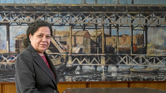 """Manuela de Paz: """"Formamos parte de ese puzzle de puertos que pueden aprovecharse de estar en todas las líneas marítimas"""""""