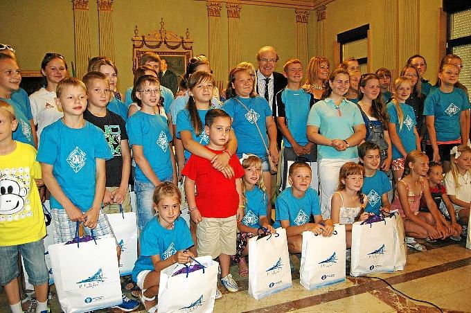 40 Niños bielorrusos pasarán este verano en Huelva.