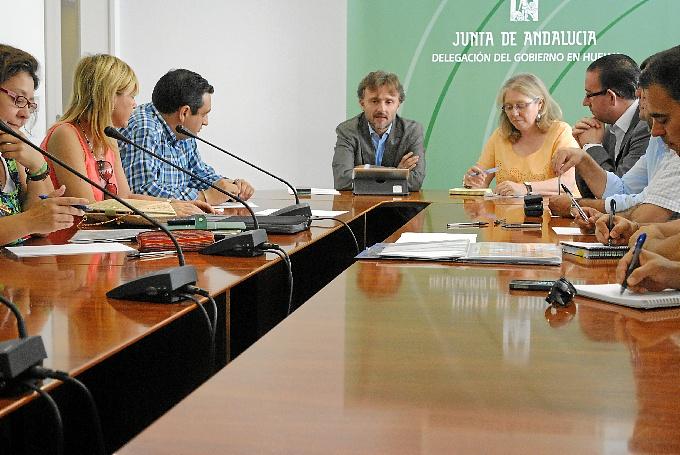 Reunión de los Grupos de Desarrollo Rural.