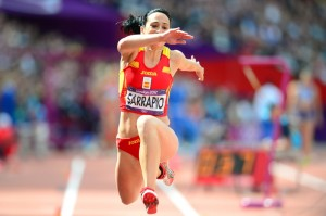 Patricia Sarrapio, vigente campeona de España, una de las atracciones en el triple salto femenino.