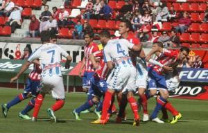 Ante el Huesca, de nuevo oportunidad para los menos utilizados. / Foto: www.realsporting.com.