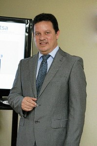 Alonso Luján, el director general de Aguas Teñidas.