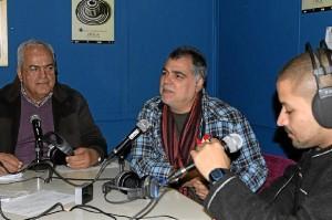 Visita de Benito Zambrano a El Zapato Roto.
