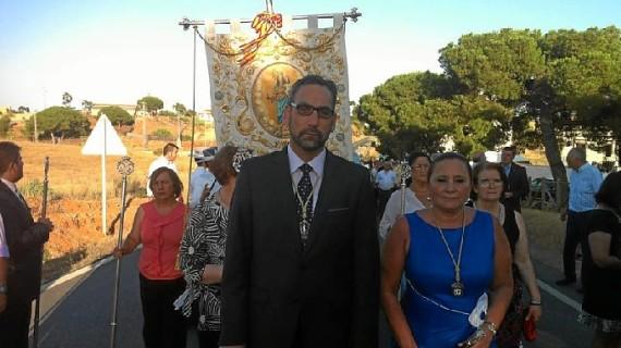 La procesión de María Auxiliadora cierra las fiestas patronales de Pozo del Camino