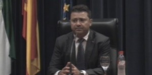 """José Manuel Andújar defendió una candidatura """"del cambio y la ilusión""""."""