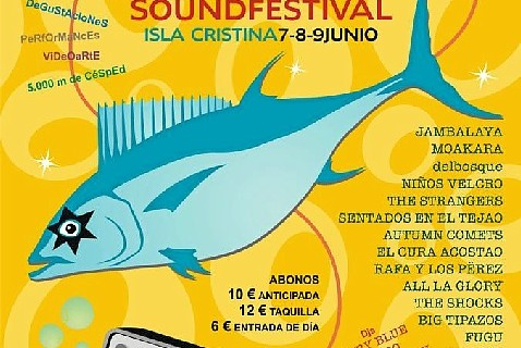 Isla Cristina está preparada para celebrar el 'Anfirock Sound Festival'