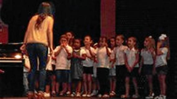 Los más pequeños de la Escuela de Música de Lepe cierran el curso con una audición