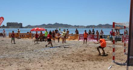 El balonmano playa centrará la atención en La Antilla.