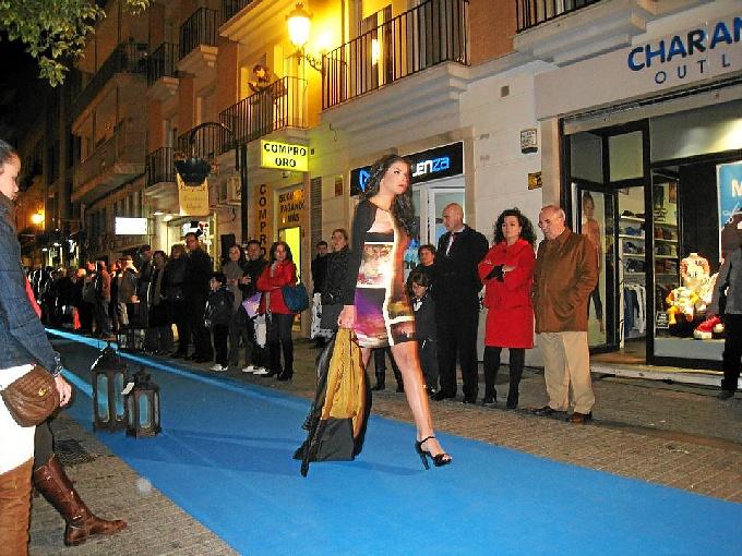 Una de las actividades dinamizadoras organizadas por las calles del centro en ediciones pasadas.