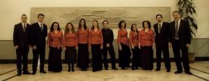 Integrantes de la Camerata Vocal Concertante de Huelva