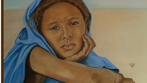 Nueva cita de la pintora Toñi Pernía en Huelva