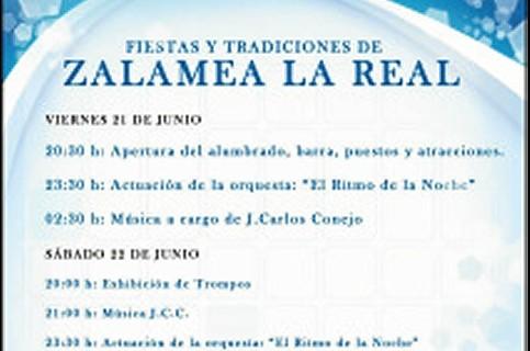 Las fiestas de San Juan en Zalamea la Real abren el verano en la localidad