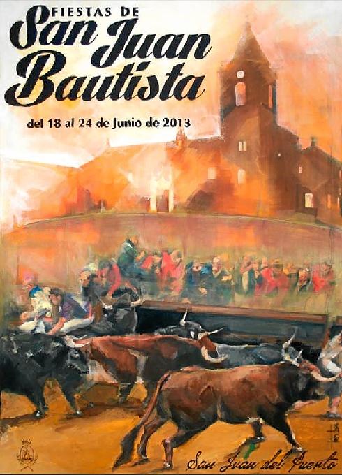San Juan del Puerto presenta el cartel de sus Fiestas de San Juan Bautista, que se celebran del 18 al 24 de junio