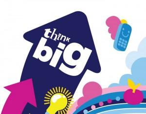 Cartel del programa Think Big.