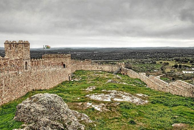 Castillo de Santa Olaya de Cala.