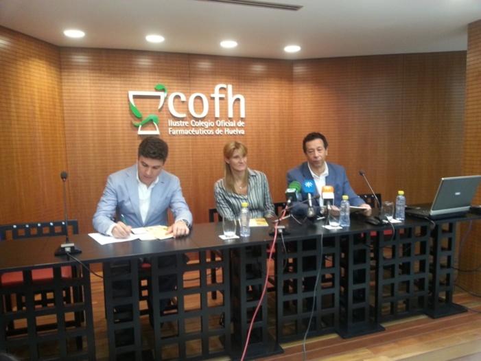 Presentación del estudio en el Colegio de Farmacéuticos de Huelva.