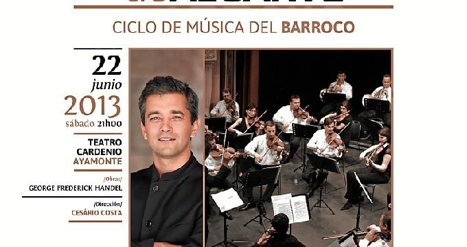 Ayamonte acoge un concierto de la Orquesta del Algarve