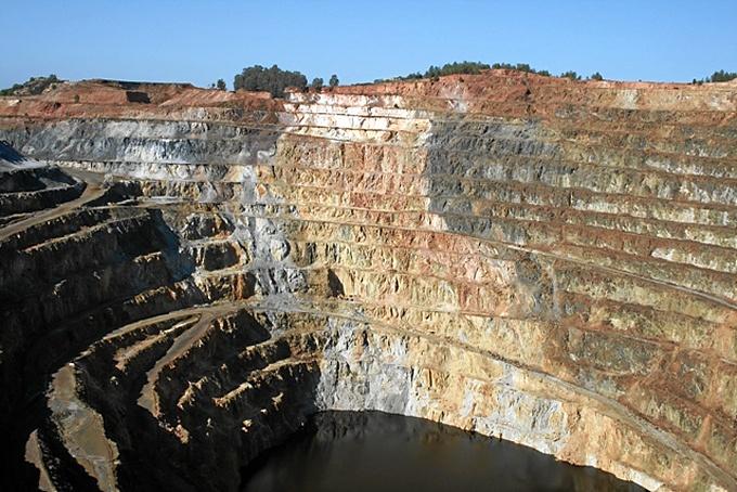 La Corta Atalaya de Minas de Riotinto. / Foto: ADR Cuenca Minera de Riotinto.