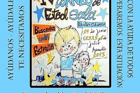 El Economato San Vicente de Paúl de Ayamonte estará en el IV Torneo de Futbol Sala 'Buscamos una Estrella'