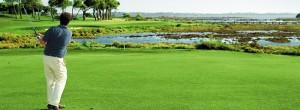 Campo de golf de El Rompido. / Foto: www.golfelrompido.es
