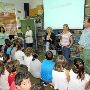Diversas actividades de concienciación sobre la importancia de mantener y preservar el medio natural, se desarrollan en Moguer.