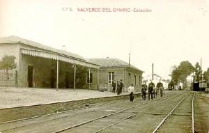 Estación de Valverde del Camino. / Foto: www.pueblos-espana.org.