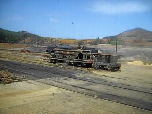 Luis Pérez apuesta por la implicación de los ciudadanos en el ferrocarril onbuense. / Foto: CDR Cuenca Minera de Riotinto.