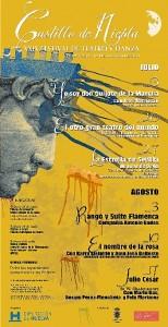 Cartel del Festival Castillo de Niebla para 2013.