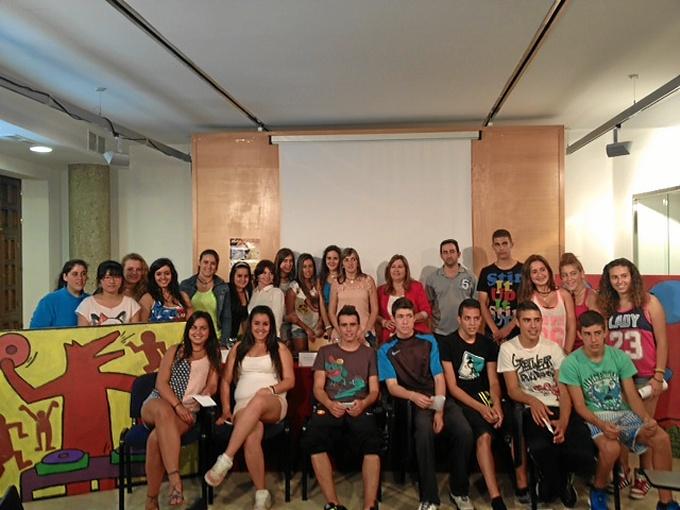 Galardonados del Concurso Educativo 'Mi futuro'.