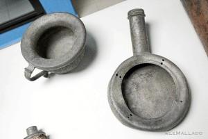 Algunos objetos del Museo de Arqueología Subacuática.