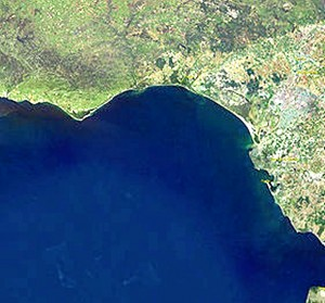 El Golfo de Cádiz, área dónde pudo estar situada la Atlántida.