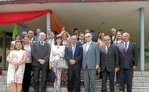 Foto de familia del Grupo La Rábida