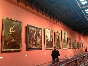 La Hispanic Society of America posee una amplia colección del pintor.