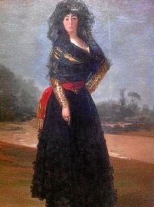Otro de los famosos cuadros del artista, el de la Duquesa de Alba, también se exhibe en Nueva York.