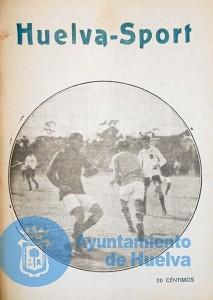 La revista Huelva Sport, del fondo del Archivo Municipal de Huelva.