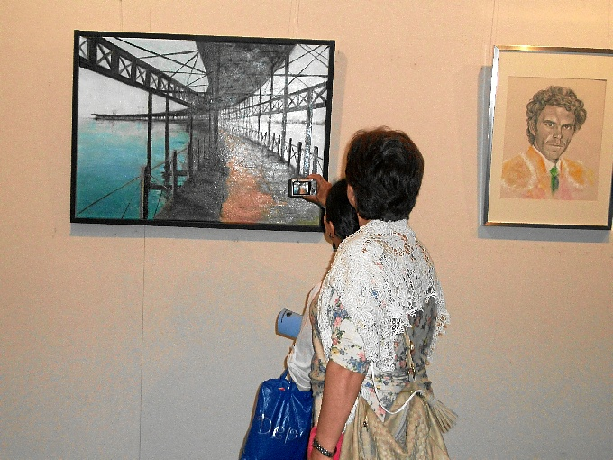 La inauguración se puede visitar hasta el próximo 14 de junio en la Fundación Caja Rural del Sur.